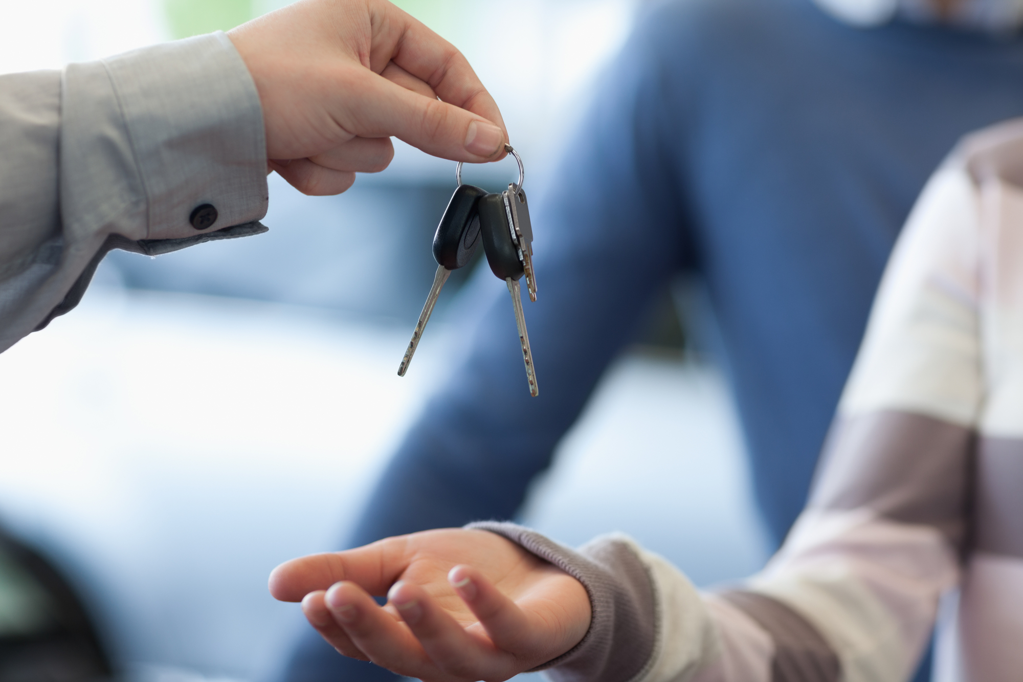 Getting the car keys - car loan finance